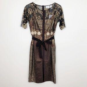Anthropologie | Marguerite Sheath Dress Byron Lars